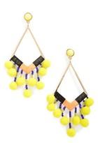 BaubleBar Women's Geo Drop Earrings