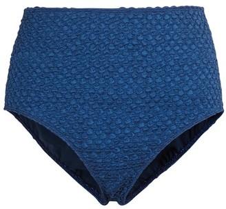 Roseanna Honeycomb pattern bikini bottoms