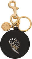 Moschino snap-back hat key ring - women - Leather/metal - One Size