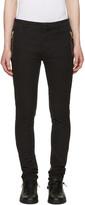 Balmain Black Slim Trousers