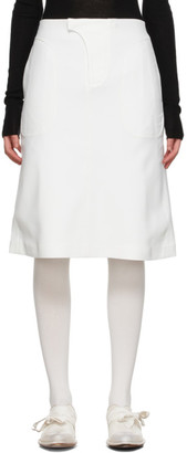 Vejas Off-White Phantom Skirt