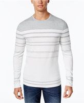 Michael Kors Men's Striped Crew-Neck Sweater
