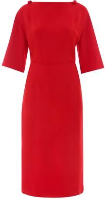 Valentino Bow-Detailed Shift Dress