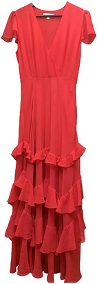Les Petites Red Polyester Dresses