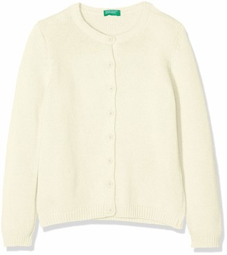 Benetton Girl's Basic G3 Cardigan Cardigan