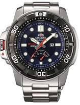 Orient #SEL06001D Men's Stainless Steel M-Force Beast Diver Power Reserve Automatic Watch