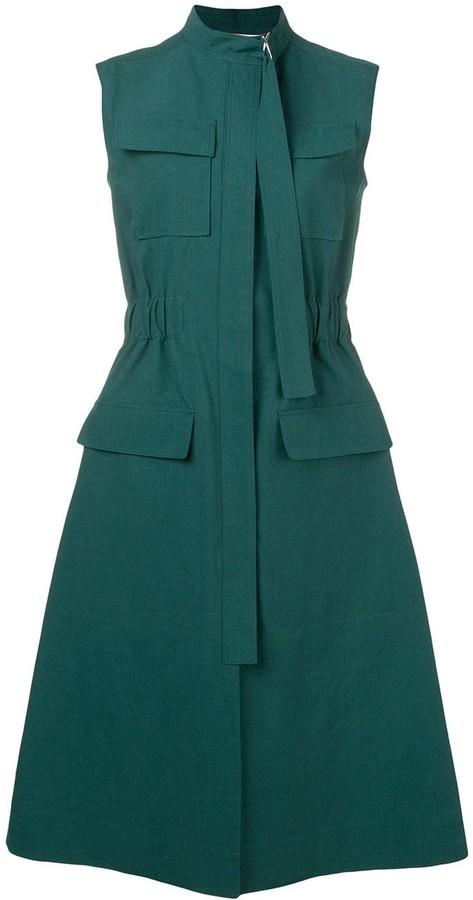Cédric Charlier Utility Midi Dress