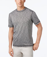 Tasso Elba Men's Performance UV Protection Striped T-Shirt