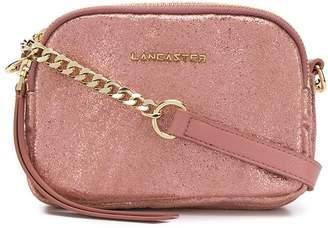 Lancaster metallic crossbody bag