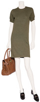Ralph Lauren Blue Label Fog Green Luxe Merino Knit Dress