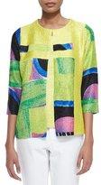 Berek New Abstract Crinkle Jacket, Women's