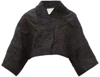By Walid Lamia 19th-century Victorian-silk Cropped Jacket - Womens - Black