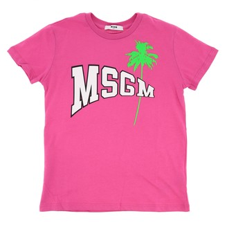 Msgm Kids Short-sleeved T-shirt With Logo