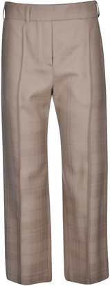 Alexandre Vauthier Straight Wide Trousers