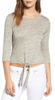 Cupcakes And Cashmere Women's Mariel Linen Tee