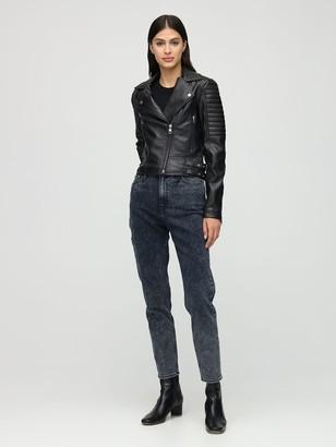 Calvin Klein Jeans Faux Leather Biker Jacket