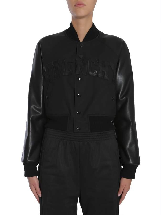 Givenchy Bomber Jacket With Logo