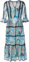 Temperley London shire printed dress
