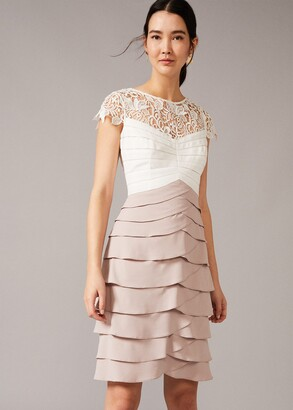 Phase Eight Faith Contrast Fitted Dress