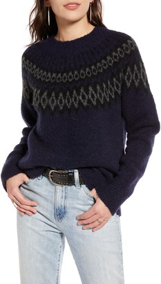 Treasure & Bond Fair Isle Sweater