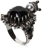 Alexander McQueen House Of Skull Brass Ring