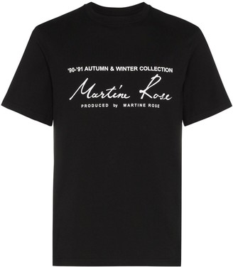 Martine Rose logo-print T-shirt