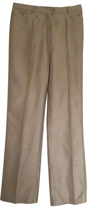Basler Beige Trousers for Women