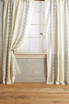 Anthropologie Embroidered Hilvi Curtain