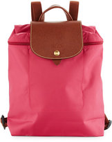 Longchamp Le Pliage Nylon Backpack, Pink