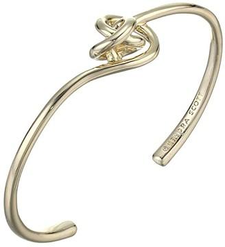 Kendra Scott Presleigh Cuff Bracelet (Gold Metal) Bracelet