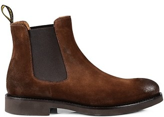 Doucal's Leather Chelsea Boots