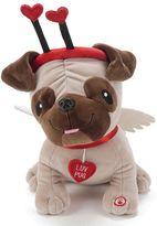 Hallmark Valentine Luv Pug Plush with Sound