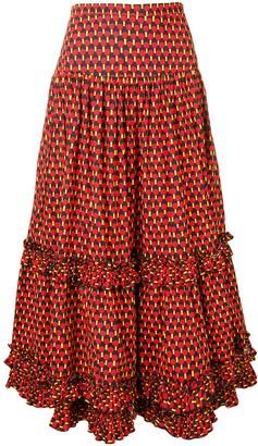 La DoubleJ Salsa skirt