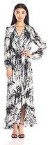 Parker Women's July Long Sleeve Cross Over Maxi Dress
