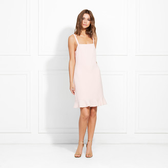 Rachel Zoe Darcie Stretch Crepe Mini Dress