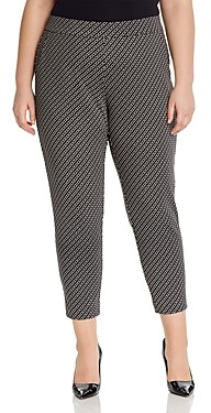 MICHAEL Michael Kors Cropped Chain Print Pants