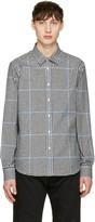 Noah Black Plaid Pocketed Shirt