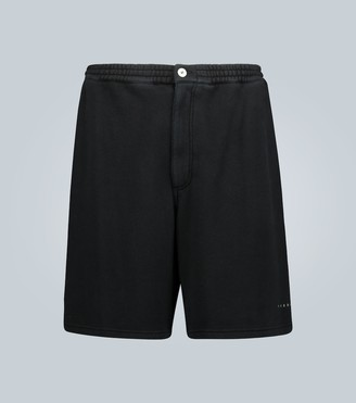 Marni Knee-length cotton sweatshorts