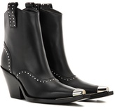 Givenchy Embellished leather cowboy boots