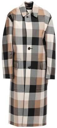 MACKINTOSH Gingham Wool-twill Coat