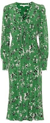 Veronica Beard Amber silk-blend midi dress