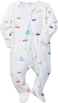 Angel Dear Colorful Footed Jumpsuit (Baby Boys)