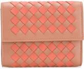 Bottega Veneta checkerboard Intrecciato wallet