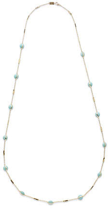 Ippolita 18K SensoTM Metal-Wrapped Turquoise Necklace, 37""