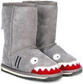 Emu shark shearling boots