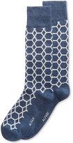 Alfani Men's Hex-Grid Socks, Only at Macy's