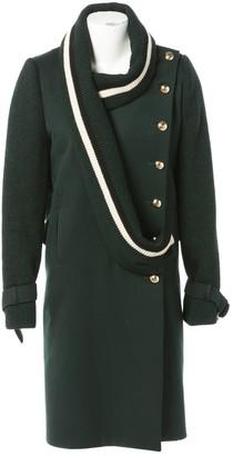 Bouchra Jarrar Green Wool Coats
