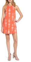 Dee Elly Women's Print Strappy Shift Dress