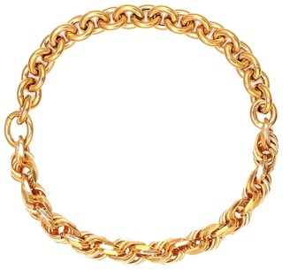Bottega Veneta Gold-plated sterling silver chain necklace