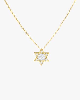 Roberto Coin Mini Star of David Pendant Necklace